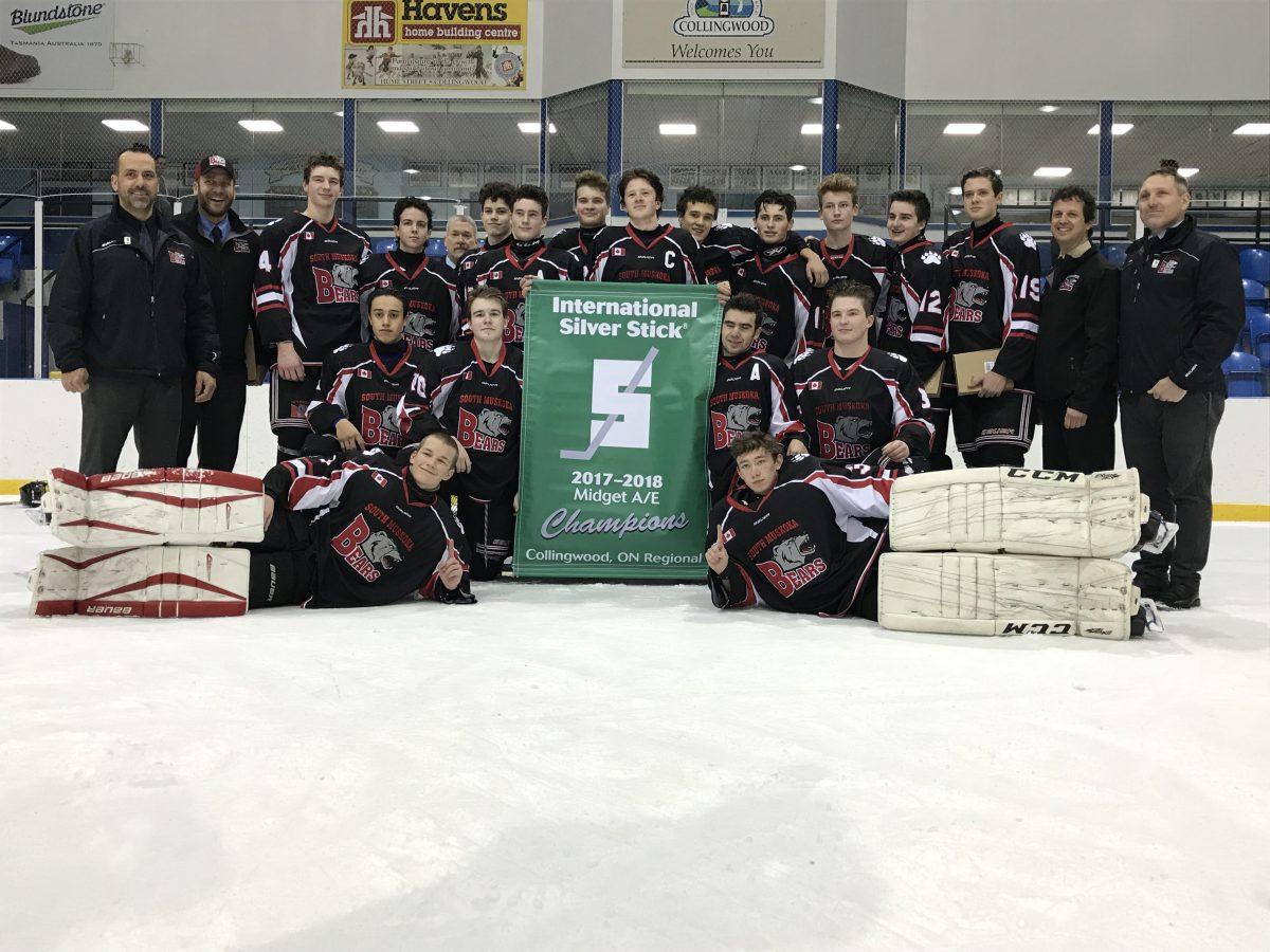 Muskoka weekend hockey wrap, Midget AE Bears take win in