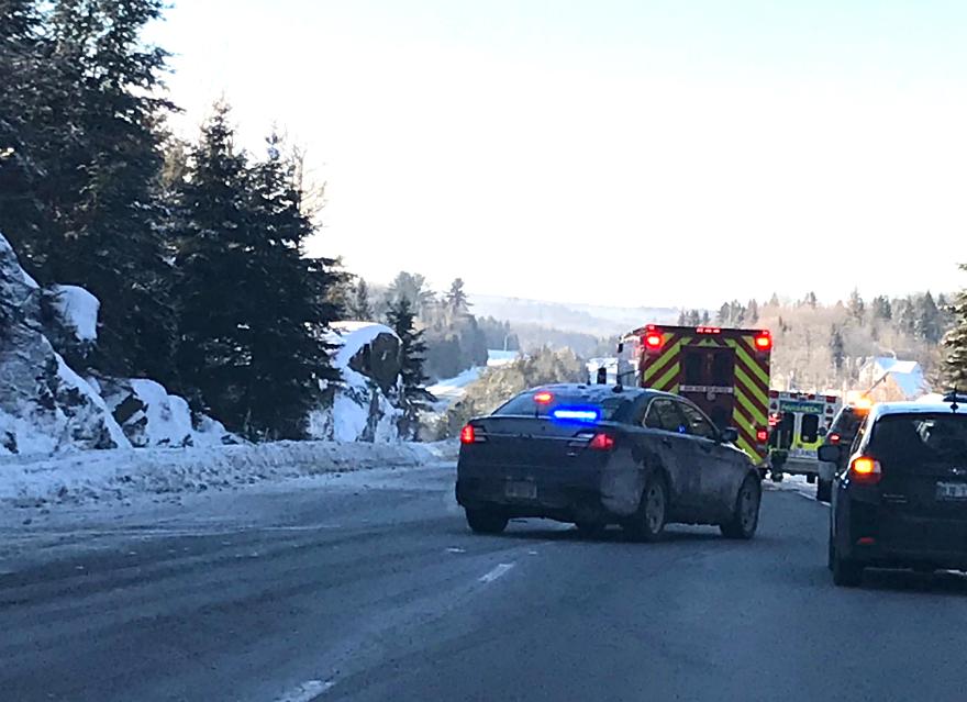 Traffic on Highway 11 SB reopened following crash - My